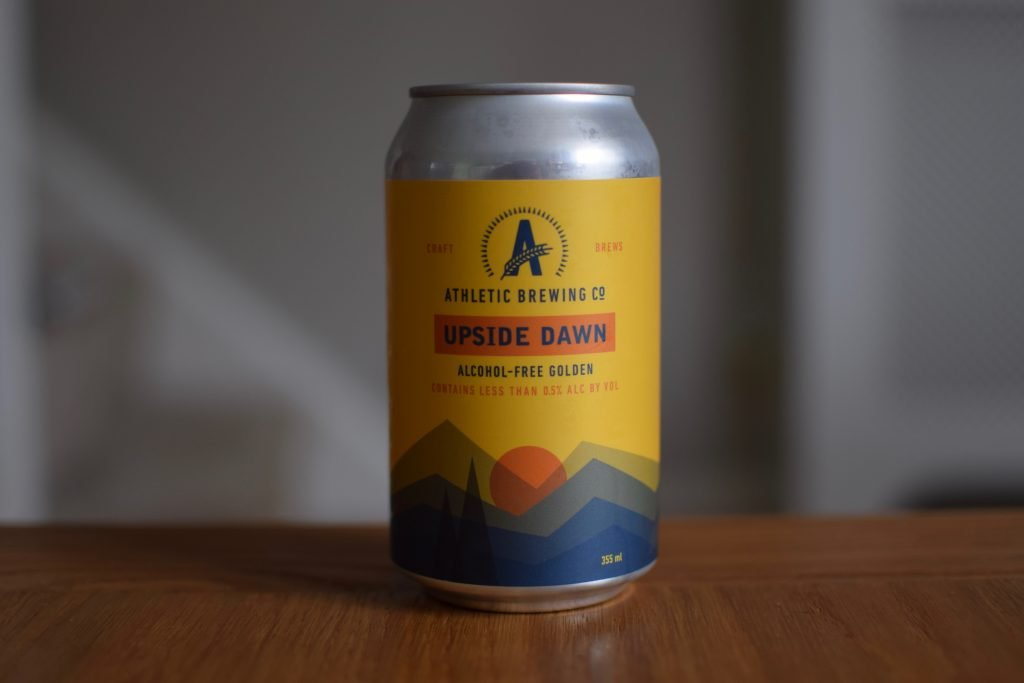 Can of Athletic Brewing Upside Dawn