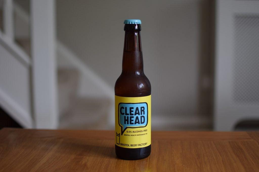 BFF Clear Head bottle