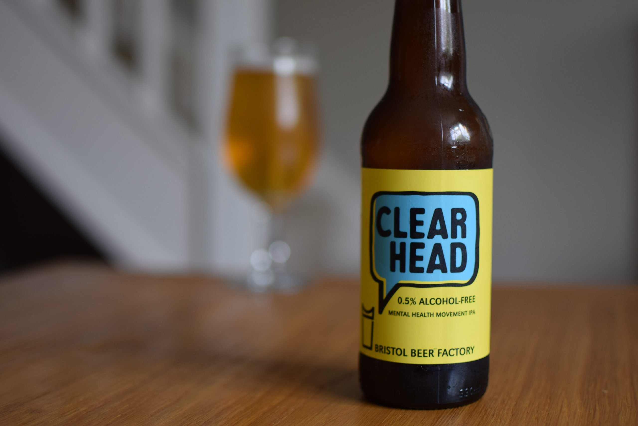 """""""Clear Head"""" (0.5%) by Bristol Beer Factory"""