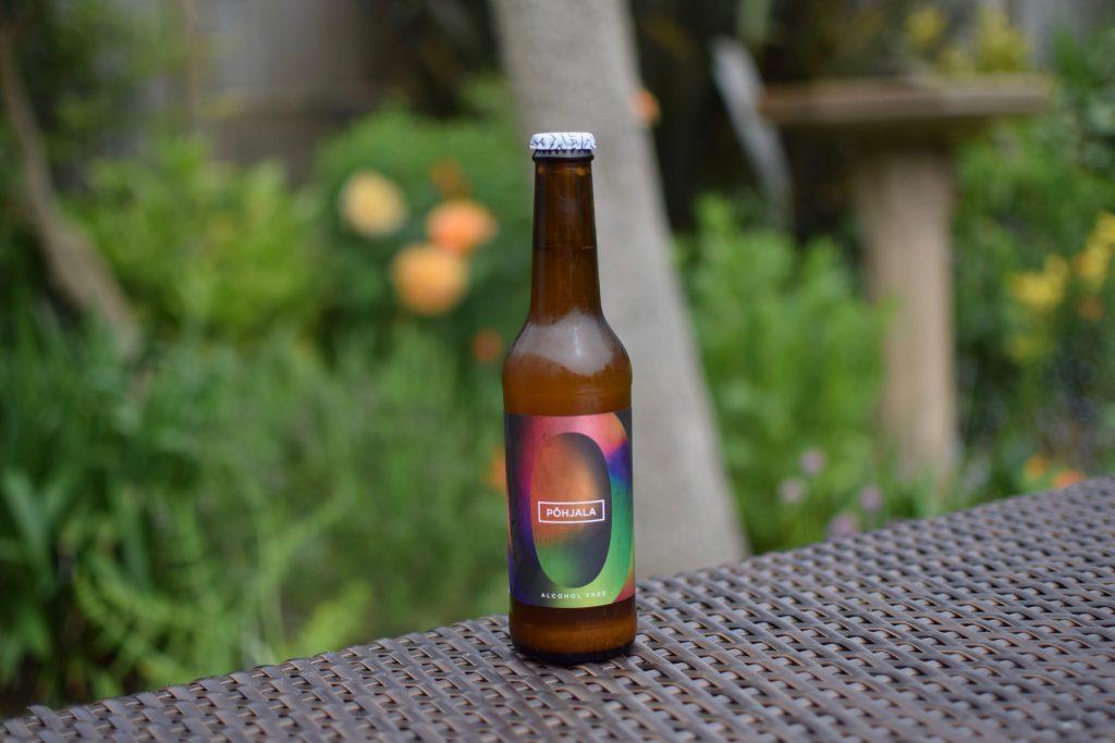 Bottle of Pohjala Tundra non-alcoholic beer