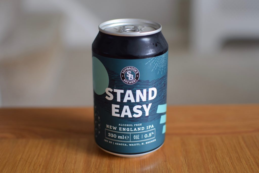 Can of Sambrook's Stand Easy non-alcoholic beer