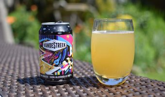 Can and bottle of Vandestreek Fun House NEIPA