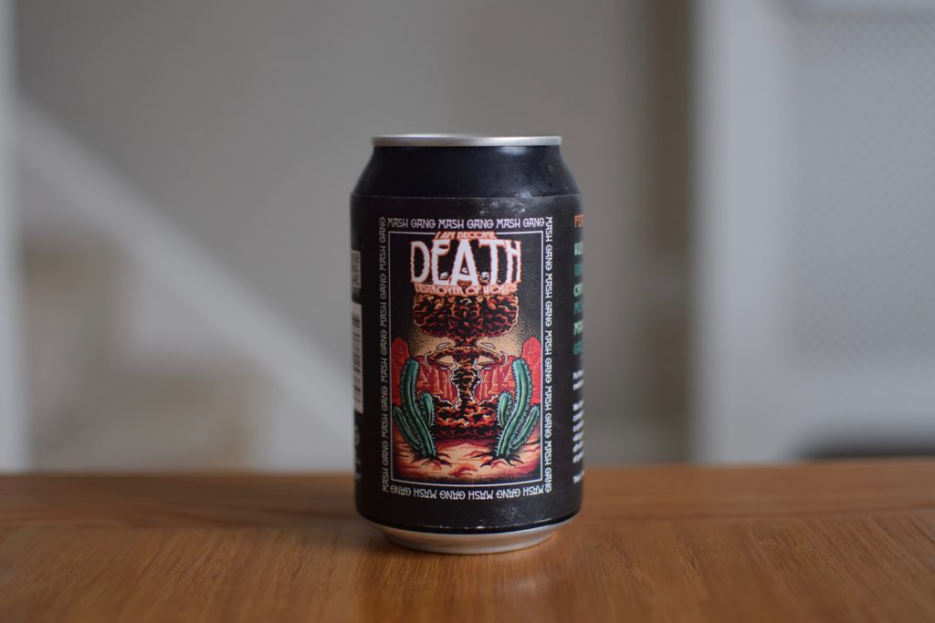 Mash Gang I Am Become Death Destroyer of Worlds Alcohol Free NEIPA can