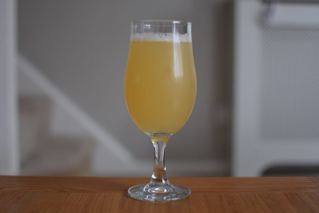 Mash Gang I Am Become Death Destroyer of Worlds Alcohol Free NEIPA in glass
