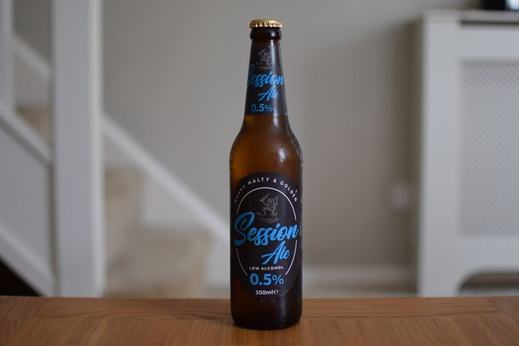 Sainsbury's Session Ale bottle