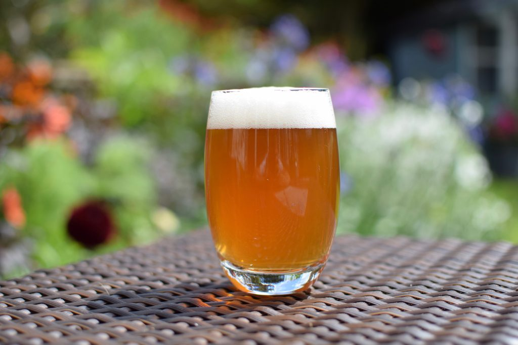 Athletic Brewing Run Wild IPA - in a glass