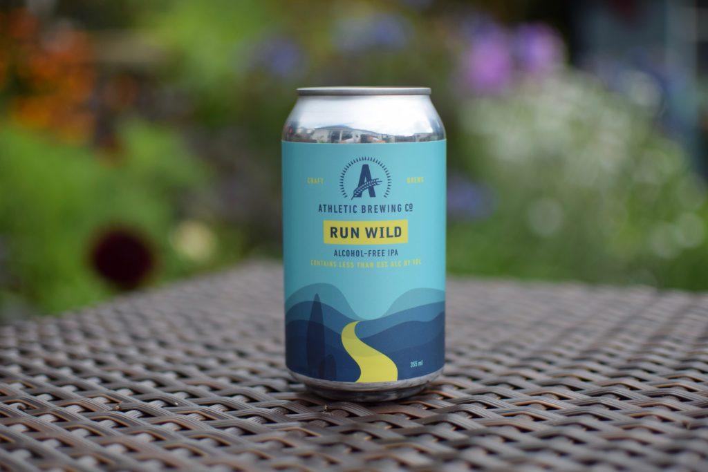 Athletic Brewing Run Wild IPA - can