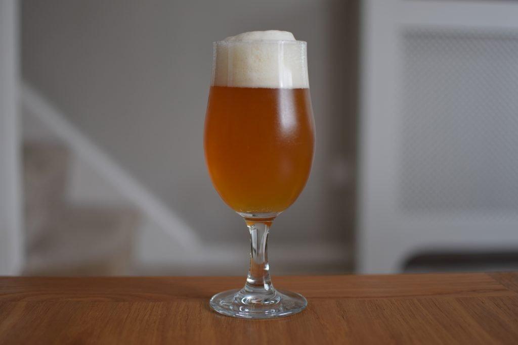 Insel Skipper's non-alc pilsner glass