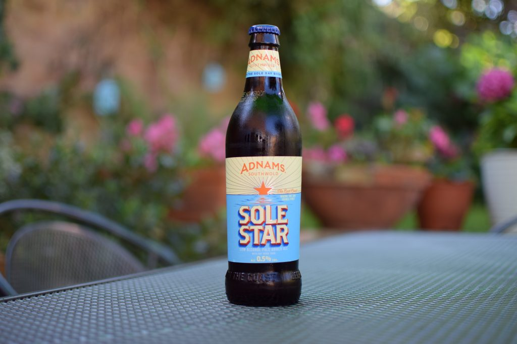 Adnams Sole Star non-alcoholic beer - bottle