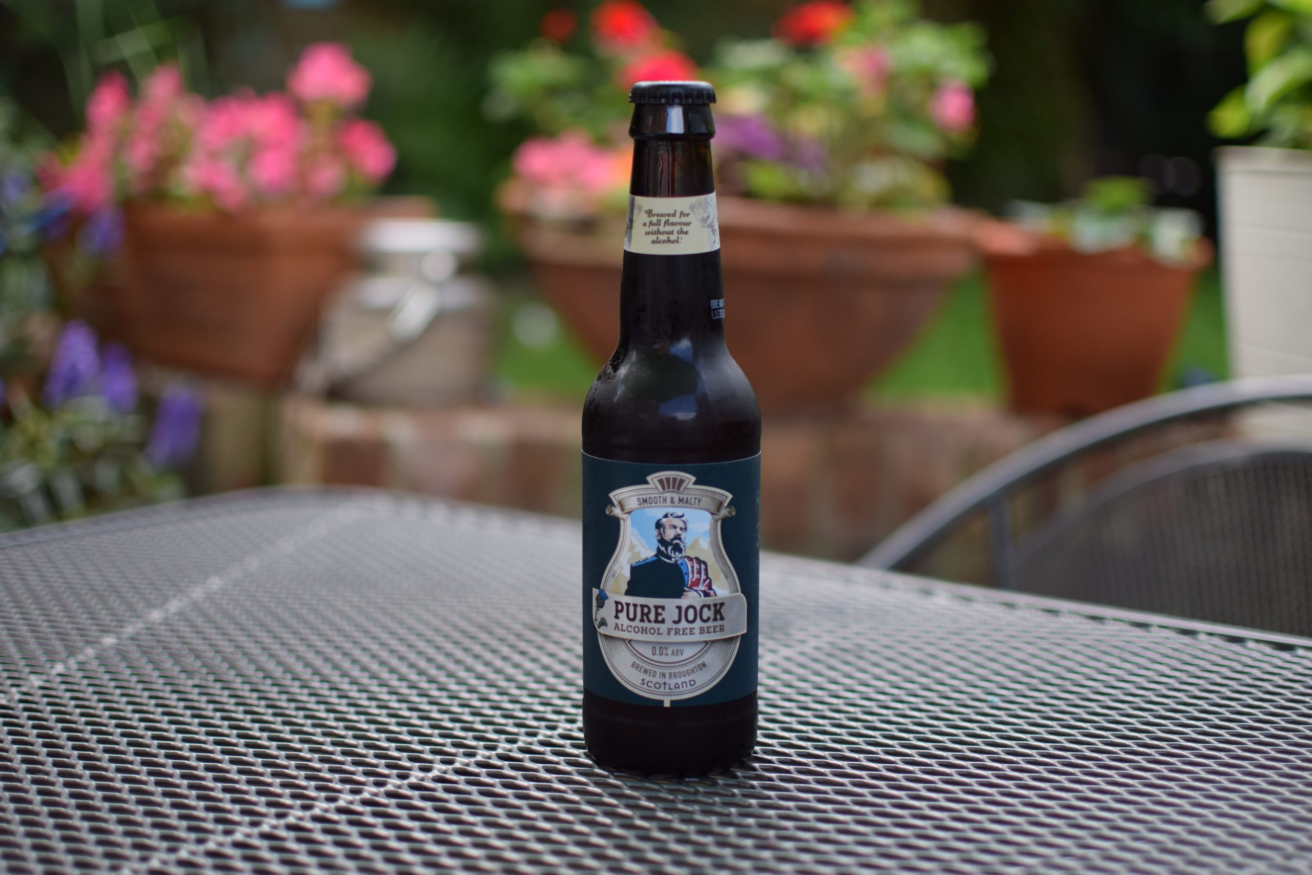 """""""Pure Jock"""" (0%) by Broughton Brewery"""