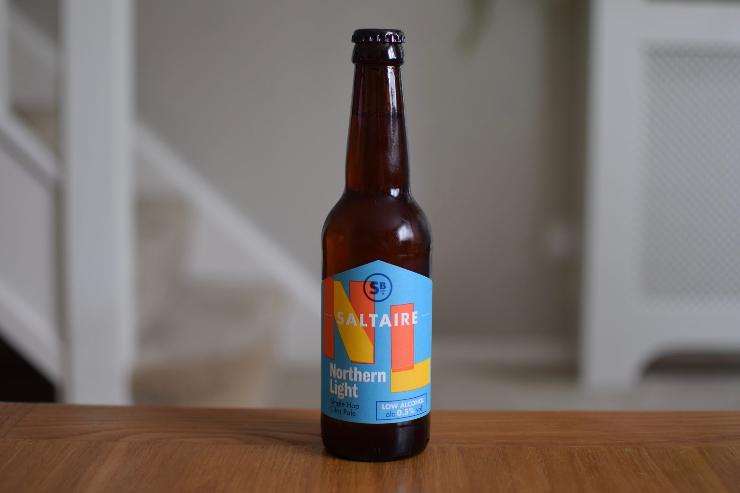 """""""Northern Light"""" (0.5%) by Saltaire Brewery"""